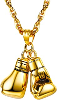 Best gold boxing glove chain Reviews