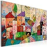 murando Cuadro Acústico Abstracto 135x90 cm decoración de Pared - decoración de Pared - Lienzo - 3 Piezas - Cuadros XXL - Panel de Pared – Silencio d-A-0053-b-a
