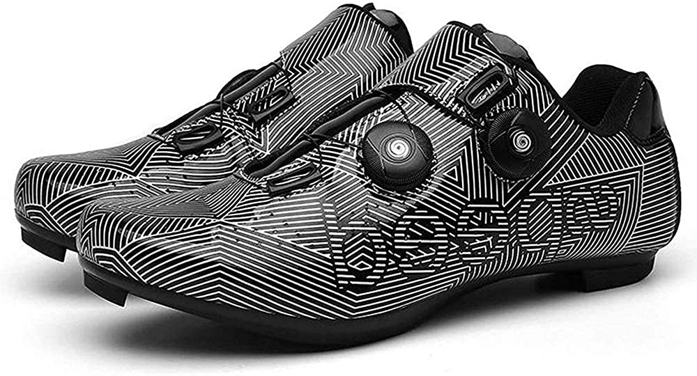 Womens Road Bike Cycling Shoes Spin Shoes for Women Indoor Cycling with Compatible Cleat Peloton Shoe with SPD//Delta for Cycling Shoes Women Lock Pedal Bike Shoes