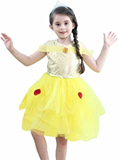 Tsyllyp Little Girls Princess Dress Holloween Cosplay Tutu Costumes