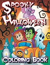 Spooky Halloween Coloring Book (Super Fun Coloring Books For Kids) (Volume 13)