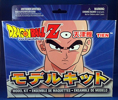 Dragonball Z Tien Action Figure Snap Together Model Kit (2000 Irwin) image