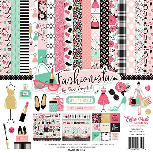 Echo Park Paper Company Fashionista Collection Kit