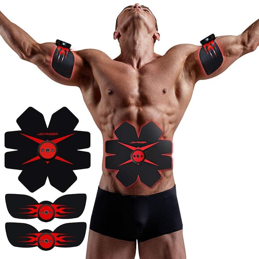 EMS AbsトレーナーAbベルト、腹部調色ベルト、腹筋刺激装置、ABSマシンAbベルト調色ジムワークアウトマシン用男性&女性
