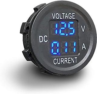 MGI SpeedWare 2-in-1 Voltmeter/Ammeter 12vDC with LED Digital Display (Blue)
