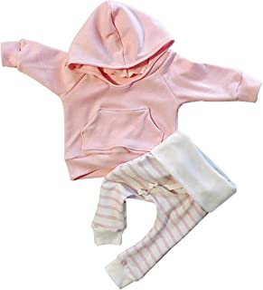 Baby Girl Clothes Long Sleeve Hoodie Sweatshirt Floral Pants with Headband  Outfit Sets e180d1475