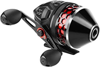 KastKing Brutus Spincast Fishing Reel,Easy to Use Push Button Casting Design,High Speed 4.0:1 Gear Ratio,5 MaxiDur Ball Bearings, Reversible Handle for Left/Right Retrieve, Includes Monofilament Line.