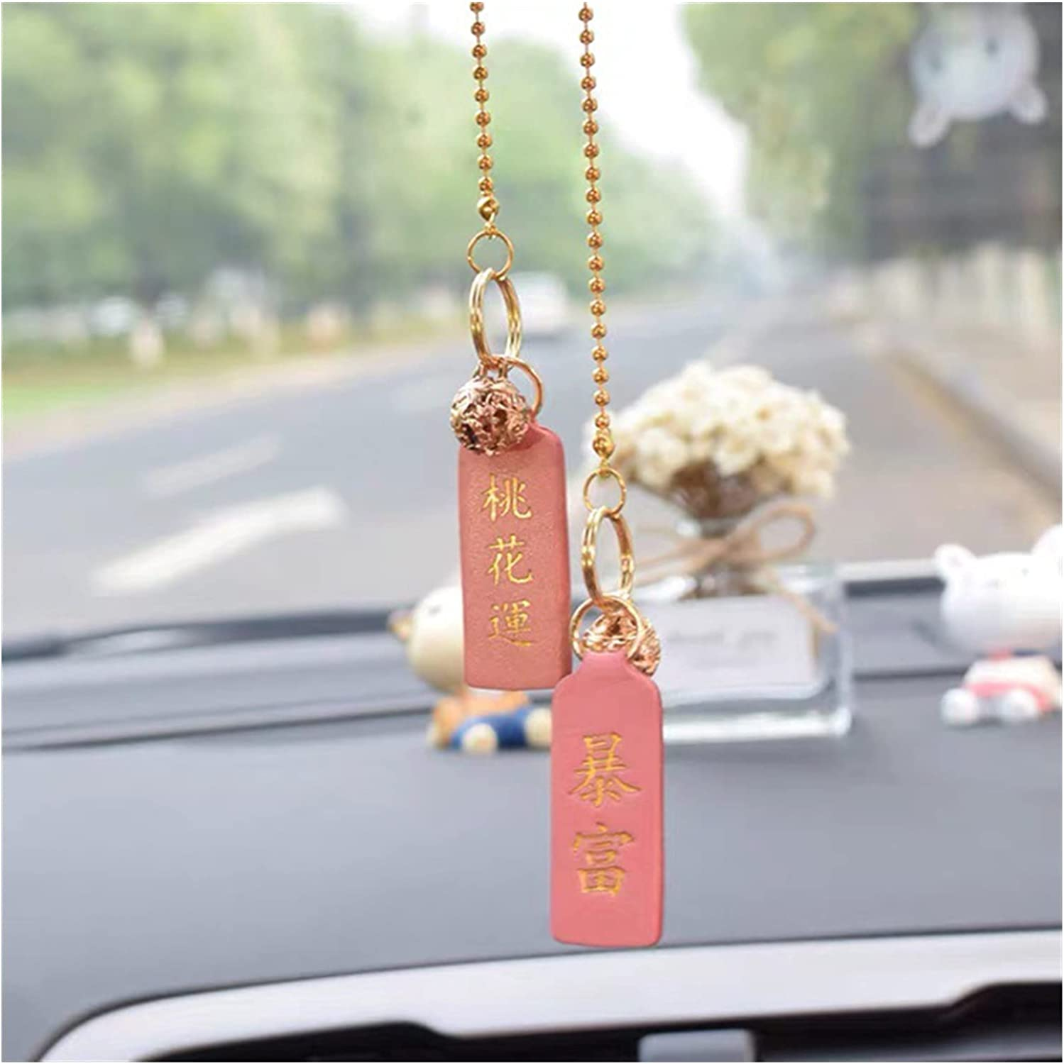 OMING Car Hanging Ornaments Cute 35% OFF Creative and Bells Boston Mall Pendant