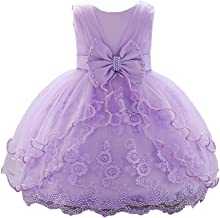 JIANLANPTT Baby Girl Dresses Toddler Lace Tulle Christening Baptism Party Gown