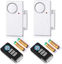 Wsdcam Wireless Door Window Alarm with Remote Magnetically Triggered Alarms for Doors or Windows Home Security Window/Door...