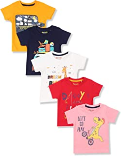 Donuts by Unlimited Baby Boy's T-Shirt (Pack of 5)