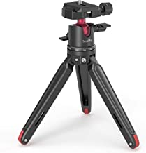 SMALLRIG Mini Tripod for Camera, Updated Desktop Tabletop Tripod with Arca-Type Compatible QR Plate, 360° Ball Head and 1/...