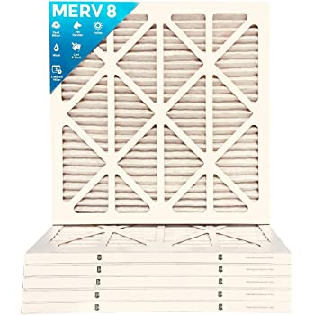 Actual Size 20x24x2 MERV 10 AC Air Filters 12 PACK 19-3//8 x 23-3//8 x 1-3//4
