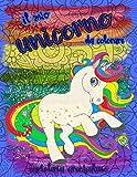 Il mio unicorno da colorare: libro da colorare con magici unicorni, sfondi mandala e giardini incantati