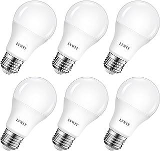 comprar comparacion LVWIT Bombillas LED A60, Casquillo E27, 8.5W equivalente a 60W, 2700K Luz Blanca Cálidoa, 806 lm, Bajo consumo, No regulab...