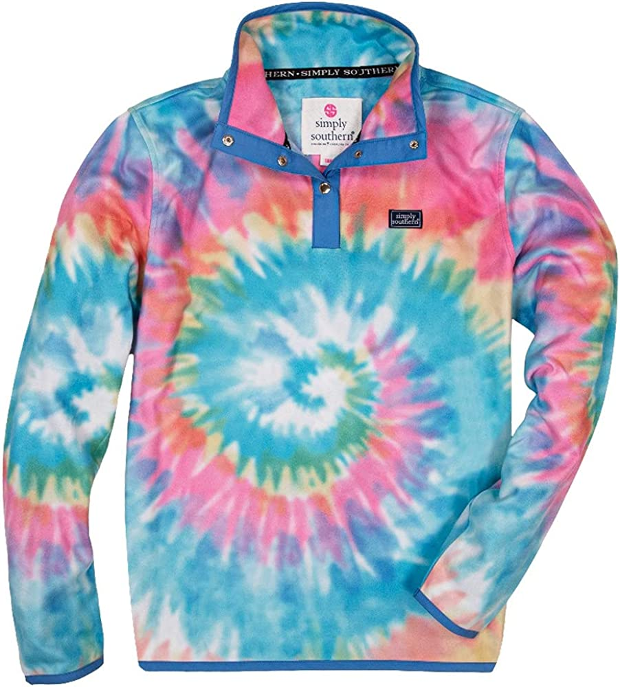 Simply Southern SS Tiedye Swirl Pullover