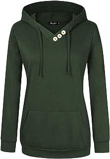 4702d9931df AMZ PLUS Women Plus Size Lightweight Full Zip Up Hooded Sweatshirt Hoodie  Jacket