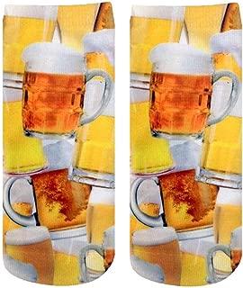 Beer for Everyone Photo Print Crew Socks
