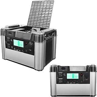 DAETNG Generador portátil, estación de Carga rápida con inversor de energía Onda sinusoidal Pura, Almacenamiento de energía de 1000W / 180000mAh / 666Wh, Fuente de Respaldo de Emergencia para Acampar