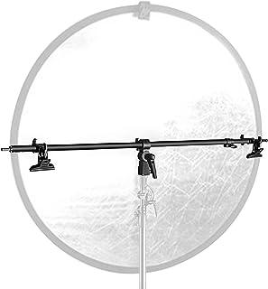 Neewer Studio Vídeo reflector Holder Brazo – 39.7 cm/101 cm retráctil telescópica barra cruzada con 2 piezas abrazaderas para soporte de luz, reflectores, producto de fondos para fotografía de retrato