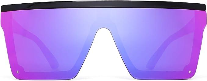 Flat Top Shield Sonnenbrille
