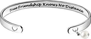 أساور أكمام الصداقة للنساء من لونج ديستانس فريندز جيفتس - صداقة حقيقية تعرف بلا مسافة