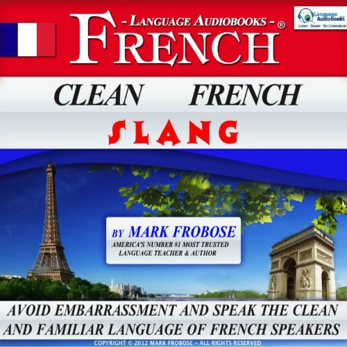 Clean French Slang audiobook cover art