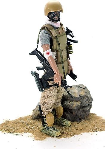 promociones emocionantes 12 Special Forces Action Figure - Wounded soldier by by by Super System  venta al por mayor barato