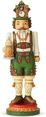 Enesco Jim Shore Heartwood Creek Santa's Around The World German Nutcracker Figurine, 10.04 Inch, Multicolor