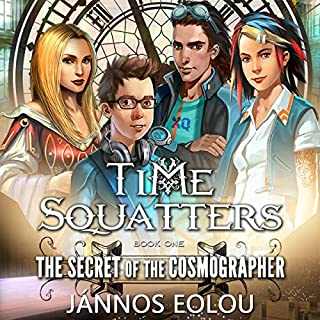 The Secret of the Cosmographer cover art