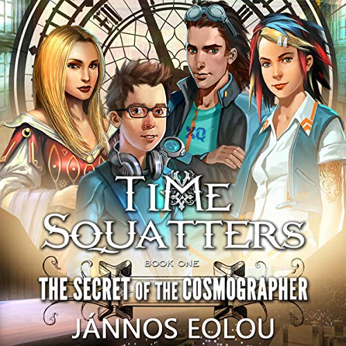 The Secret of the Cosmographer audiobook cover art