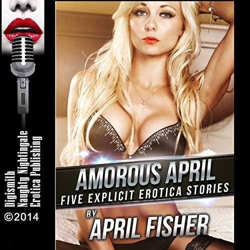 Amorous April audiobook cover art