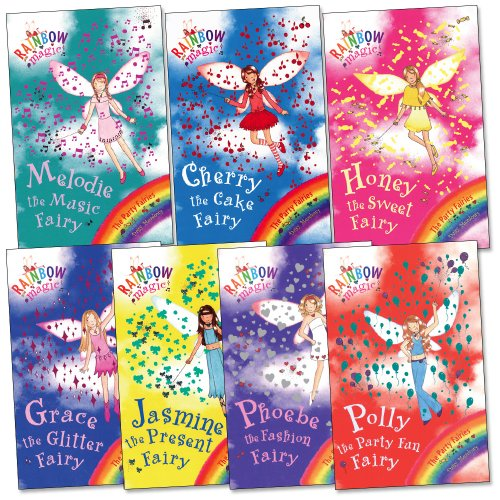 Party Fairies Pack, 7 books, RRP 27.93 (Cherry the Cake Fairy; Grace the Gli...