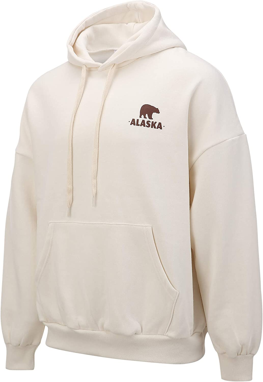 Men's Premium Long Sleeve Pullover Hoodie Shirt Fleece Hooded Sweatshirt