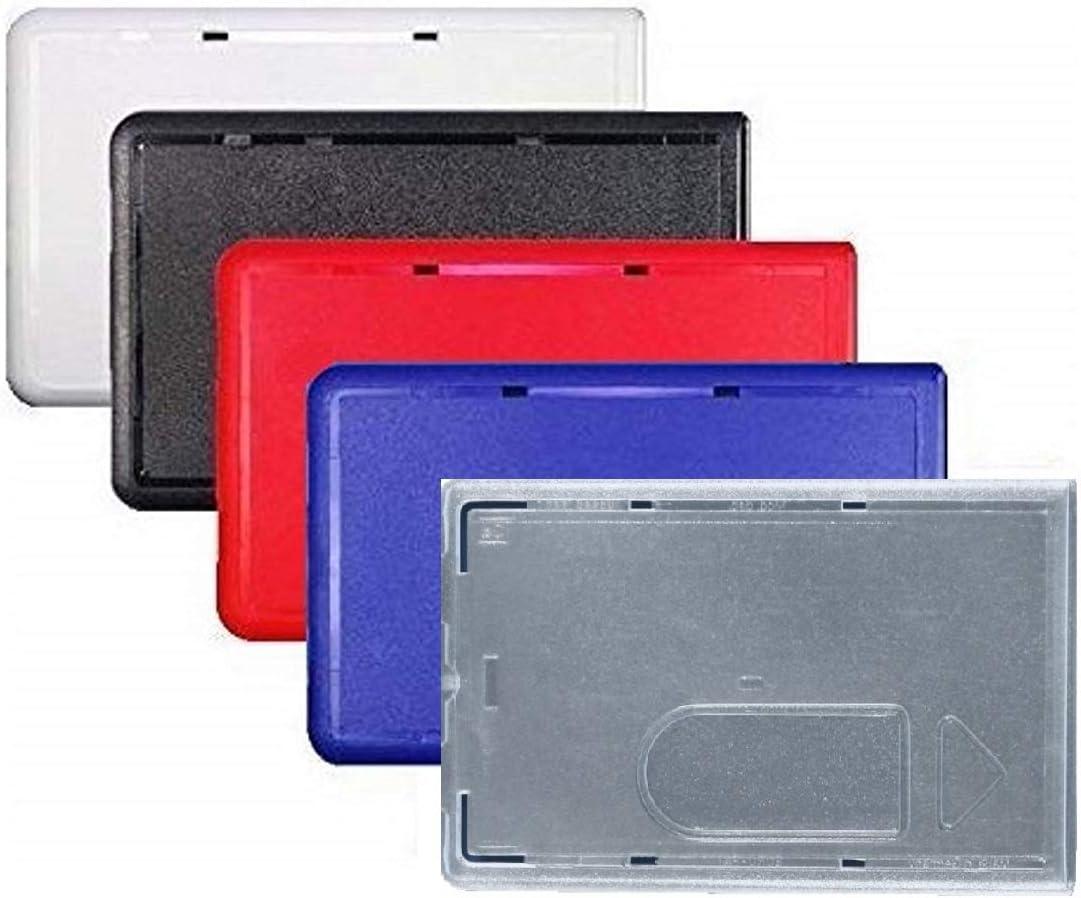Waizmann Ideas 5x Rot Schutzhülle Kartenhülle Bankkartenhülle Ec Karten Plastikkarten Scheckkarten Bankkarten Kreditkarten Polycarbonat Daumenausschub Bürobedarf Schreibwaren