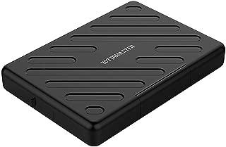 【多重保護】Yottamaster SSD/HDDケース 2.5インチ USB3.0 SATA接続 9.5mm/7mm厚両対応 ハードディスクケース 防塵/防湿/衝撃吸収 外付けドライブケース[A2U3]