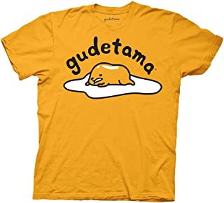 Ripple Junction Gudetama Adult Unisex Large 2 Color Iconic Light Weight 100% Cotton Crew T-Shirt