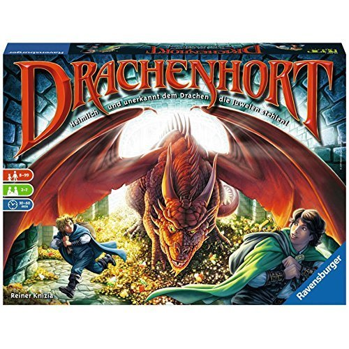 Drachenhort: Heimlich dem Drachen die Juwelen stehlen [German Version] by Ravensburger