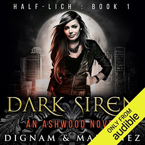 Dark Siren audiobook cover art