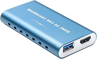 USB 3.0 Game Streaming Live Streaming Capture Card, HAIWEI Vision HDMI FHD Video Capture Device for Windows Linux MAC OS Based Devices