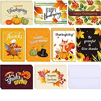 Best thanksgiving note cards Reviews