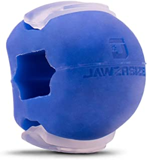 Jawzrsize Jawline Exerciser and Neck Toning (Advanced Blue)