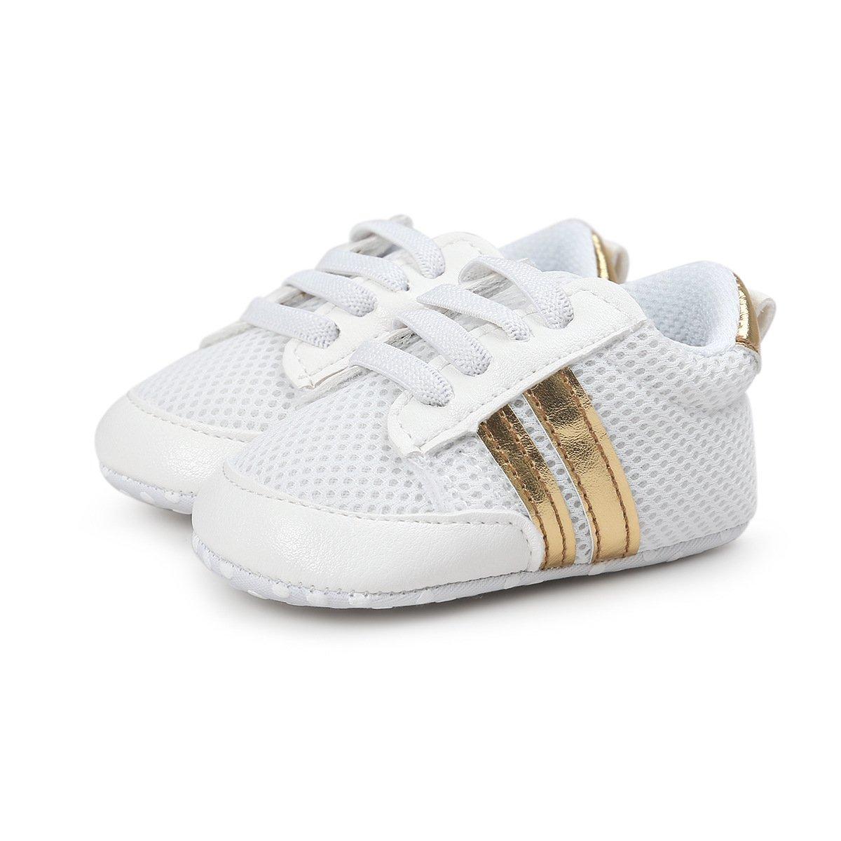 Tutoo 男女通用婴儿鞋男童女童夏季透气网眼跑步运动鞋婴儿*步行者新生儿学步鞋