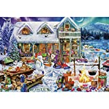 Psycker Jigsaw Puzzles 1000 Pieces for Adults for Xmas,Every Piece is Made of Basswood,Technology Means Pieces...