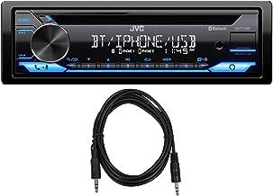 JVC KD-T710BT Car CD Player Receiver w/Bluetooth/USB/Amazon Alexa+AUX Cable