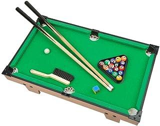 Mini Pool Table, Premium Tabletop Billiards Mini Snooker Game Set - Balls, Cues, and Rack Pool, Sport Bank Shot Family Pla...