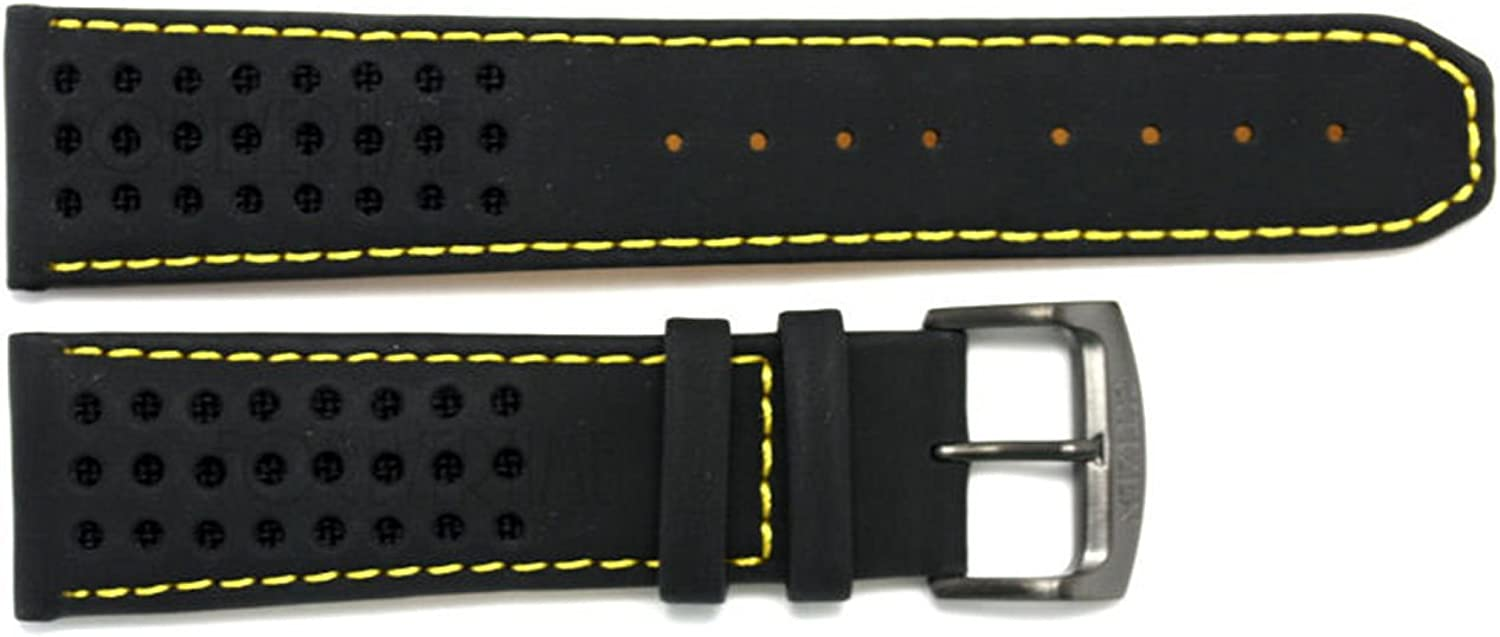 Citizen 59-S52633 Original Replacement Watch Band Max 67% Max 49% OFF OFF Leather Black