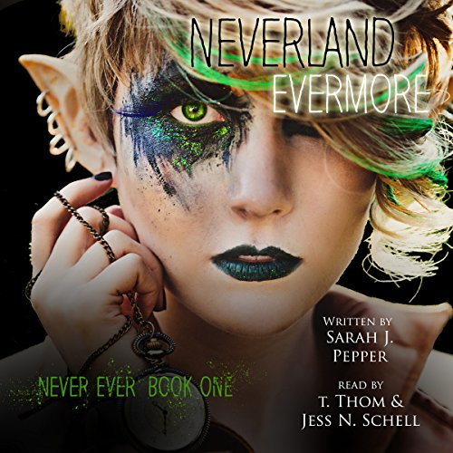 Neverland Evermore audiobook cover art