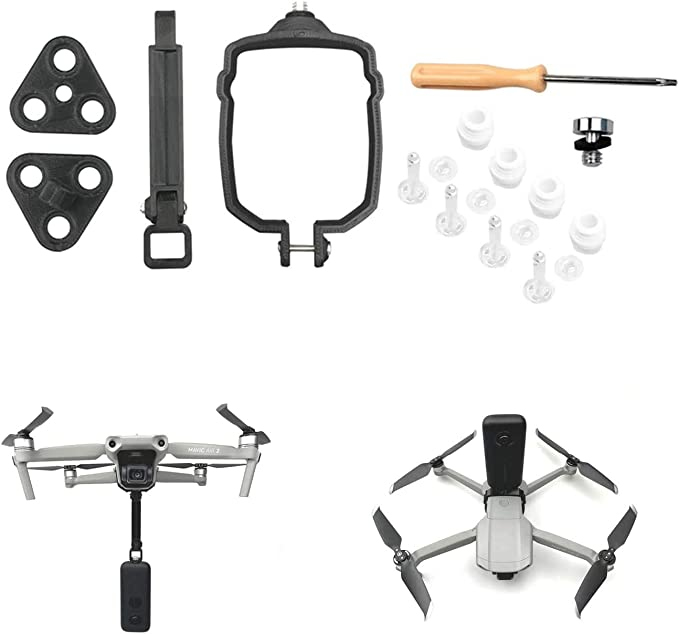 FEICHAO Camera Connection Adapter for Mavic 1 Pro Drone Mount for Insta360 ONE X