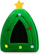 Hollypet Self-warming 2 in 1 Foldable Comfortable Triangle Pet Cat Bed Tent House